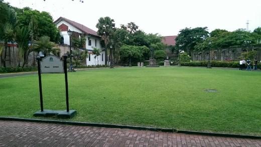 Fort Santiago - Plaza Armas