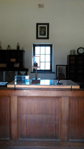 Counter at the Telegraph Station