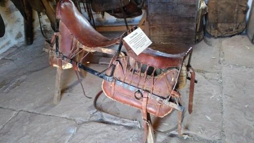 Saddles at the Telegraph Station
