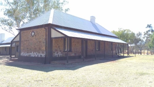 Station Masters house at the Telegraph Station
