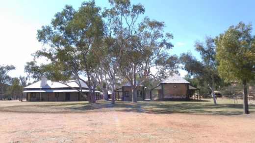 Most of the buildings at the Telegraph Station