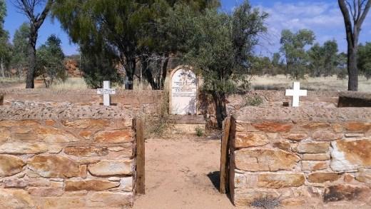 Graveyard at the Telegraph Station