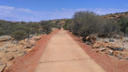 4km to Alice Springs town