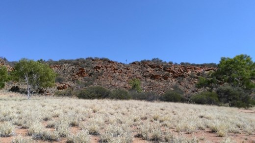 2km to Alice Springs town