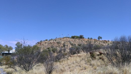 ANZAC Hill from afar