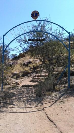 Lions Walk Gate