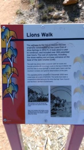 Description of Lions Walk Gate