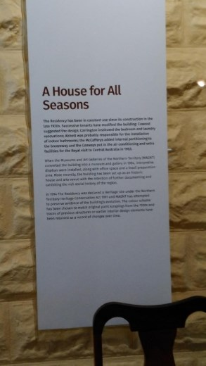 Description of The Residency
