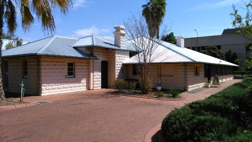 The Residency. Formerly residence of the governor of Central Australia