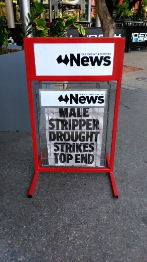 Desperate times in Darwin