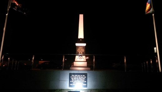 Memorial to Phillip islanders who died serving their country
