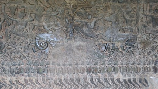 Scene from southern wall