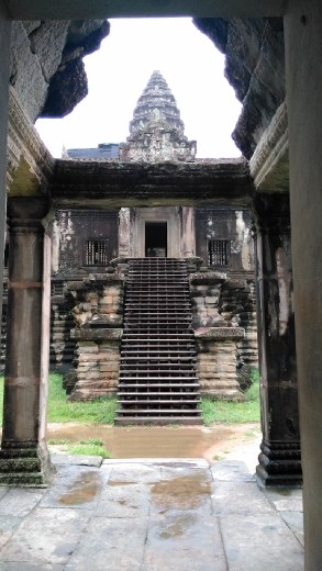 The central area with the main temples