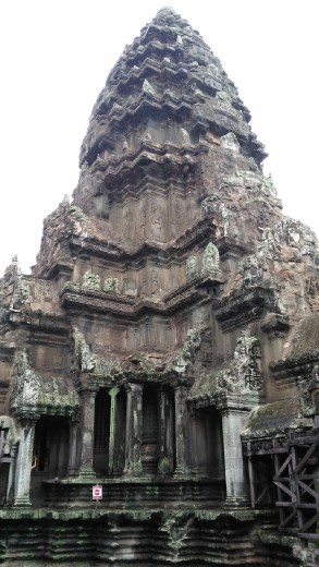 The upper level of Angkor Wat
