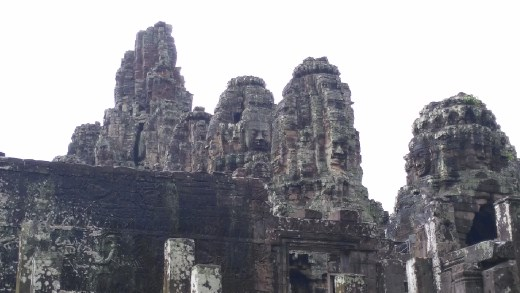 Bayon - Faces of Buddha with it's enigmatic smile