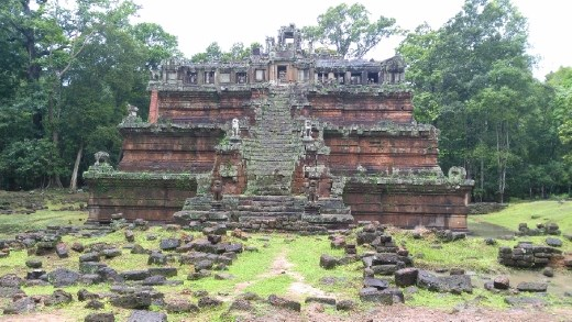 A temple in the Royal Palace area