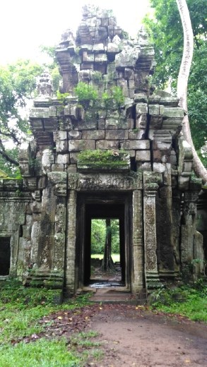 An entrance at the Terrace of Lepar King