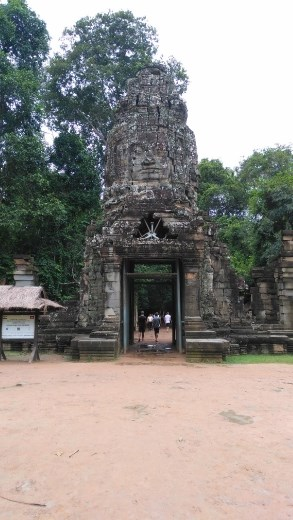 Western entrance to Ta Prohm