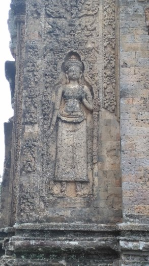 Carving at East Mebon