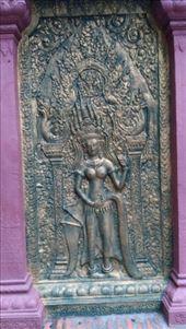 Wat Phnom - Carving: by macedonboy, Views[137]
