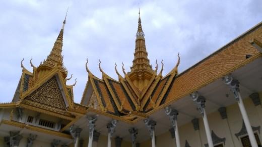 Roof of Preah Tineang Chanchhaya