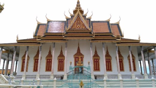 Silver Pagoda aka Temple of the Emerald Buddha
