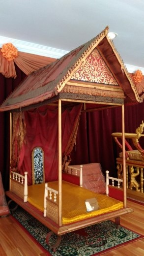 The queens palanquin
