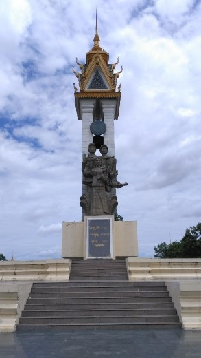 Cambodian-Vietnamese Friendship Monument at Wat Botum Park