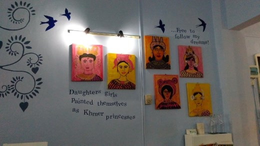 Inside Daughters of Cambodia, Sugar and Spice Cafe
