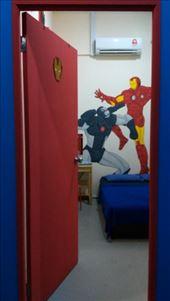Iron Man room in Hero Hostel: by macedonboy, Views[123]