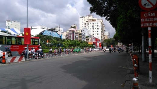 Patriotism on Pham Ngu Lao