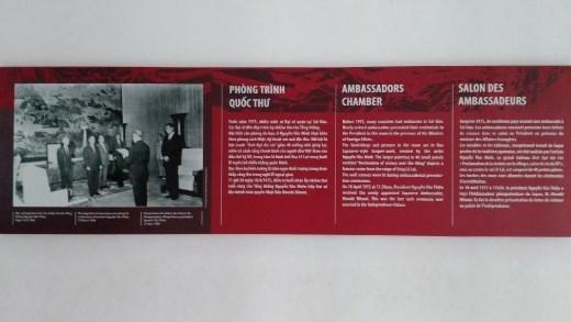 Description of Ambassador's Chamber