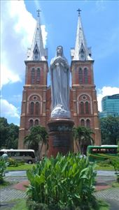 Saigon Notre Dame Cathedral with Mary: by macedonboy, Views[18]