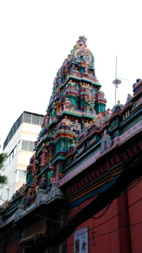 Roof of Mariamman Hindu Temple