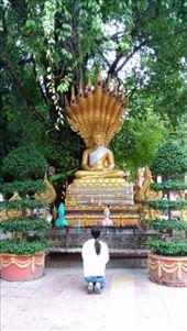 Random statue at Wat Si Muang: by macedonboy, Views[147]