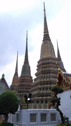 Stupas of Phra Maha Chedi Si Rajakarn
