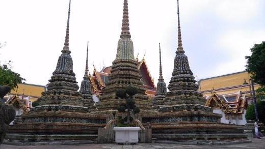 Random stupas showing 4 cardinal points