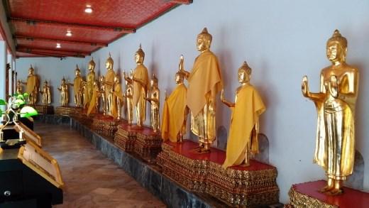 Pavilion area of Phra Maha Chedi Si Rajakarn