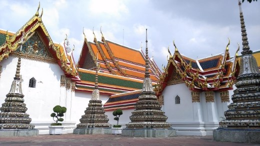 Outside Phra Buddha Deva Patimakorn