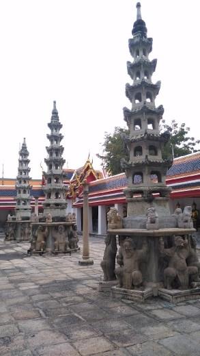 Courtyard of Phra Buddha Deva Patimakorn