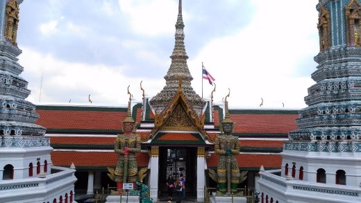 Grand Palace - View of giants from  The Royal Pantheon