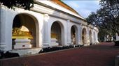 Phra Pathom Chedi School - Cloister with various Buddha statues: by macedonboy, Views[19]