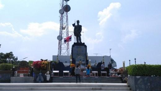 Pattaya Hill - Chumphonket Udomsak Monument