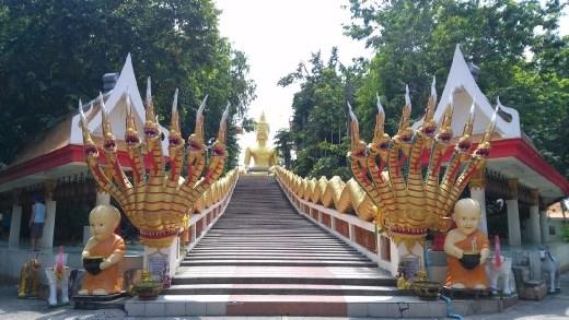 Wat Phra Khao Yai - Stairs to Big Buddha