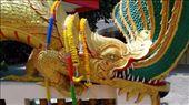 Wat Phra Khao Yai - Close-up of Naga: by macedonboy, Views[74]