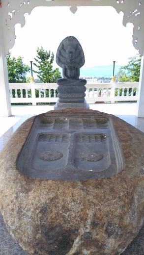 Wat Phra Khao Yai - Buddha foot print