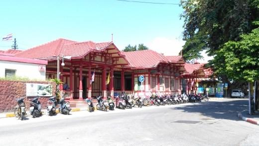 Hua Hin Railway Station by day