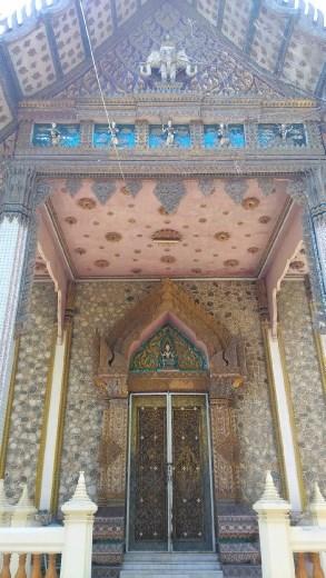 Building in Wat Khao Takiap