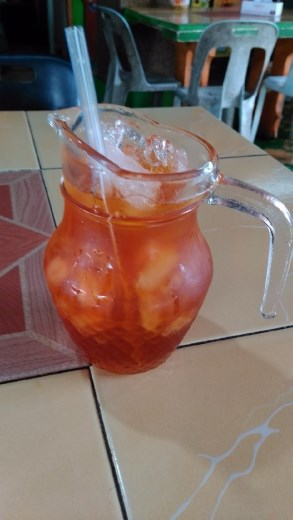 My iced lemon tea