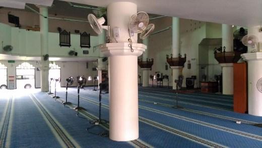 Inside Masjid Tengku Tengah Zaharah